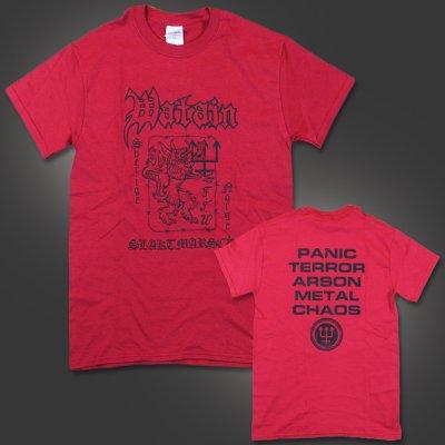 Watain - Slaktmarsch T-Shirt (Red)