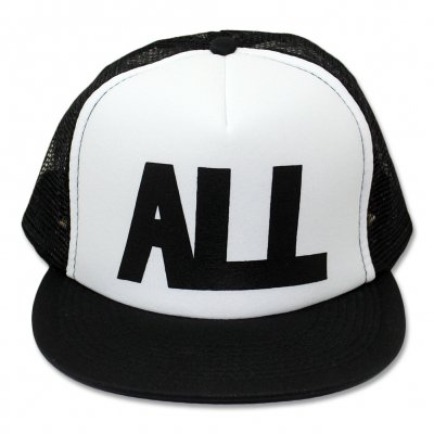 all - ALL Logo Trucker Hat