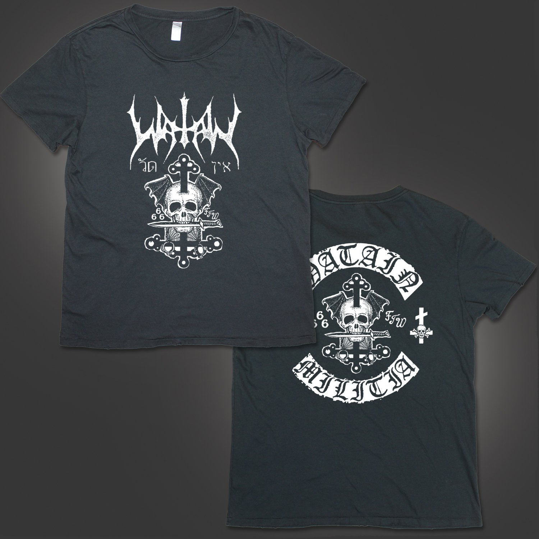 IMAGE   Death's Head T-Shirt (Vintage Black)