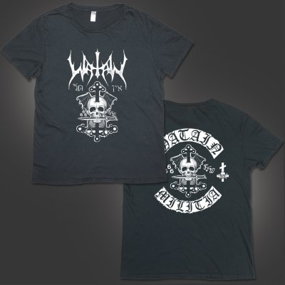 valhalla - Death's Head T-Shirt (Vintage Black)