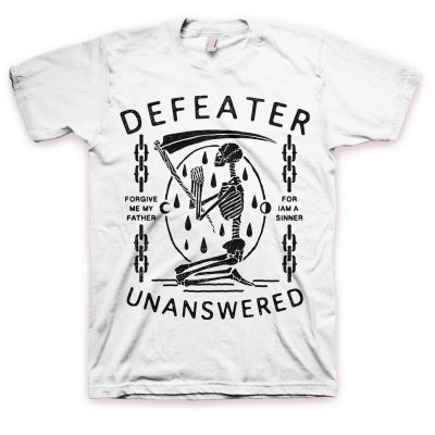 Defeater - Defeater Unanswered Skeleton T-Shirt (White)