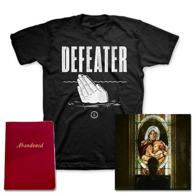 defeater - Abandoned CD + Drowning Hands T-Shirt + Deluxe Lyric Book