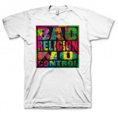 Bad Religion - No Control T-Shirt (White)