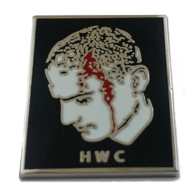 Head Wound City - Bloody Head Enamel Pin