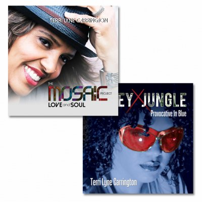 Terri Lyne - Autographed LOVE and Soul CD + Money Jungle CD