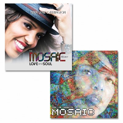 Terri Lyne - Autographed LOVE and SOUL CD + Mosaic Project CD