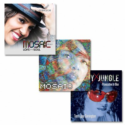 Terri Lyne - Autographed LOVE and SOUL CD + Money Jungle CD + Mosaic Project CD