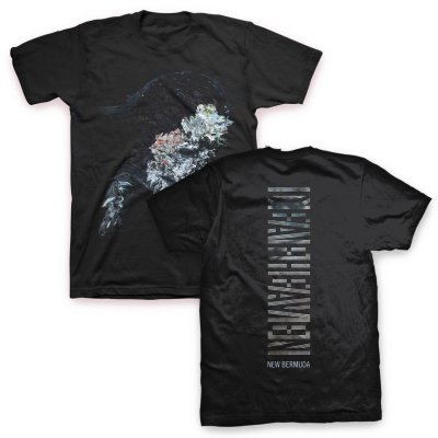 valhalla - New Bermuda Cover Art T-Shirt (Black)
