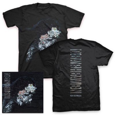 deafheaven - New Bermuda CD & New Bermuda Cover T-Shirt (Black)