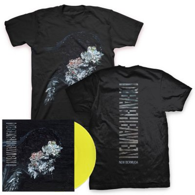 deafheaven - New Bermuda 2xLP (Deluxe - Yellow) & New Bermuda Cover T-Shirt (Black)