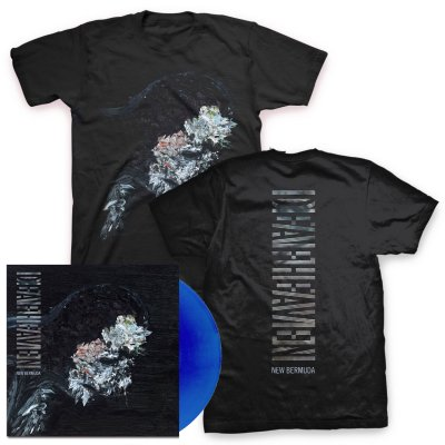 Deafheaven - New Bermuda 2xLP (Deluxe - Blue) & New Bermuda Cover T-Shirt (Black)