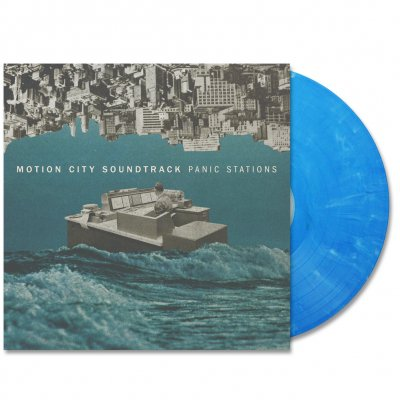 Motion City Soundtrack - Panic Stations LP (Opaque Blue)