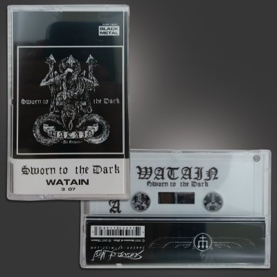 watain - Sworn To The Dark Cassette Tape