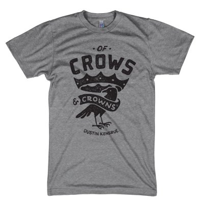 dustin-kensrue - Of Crows & Crowns T-Shirt (Heather Grey)