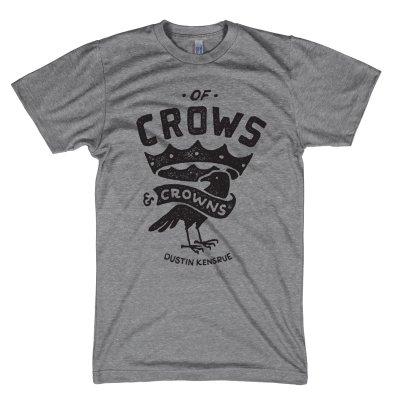 dustin-kensrue - Of Crows & Crowns T-Shirt (Heather Grey)