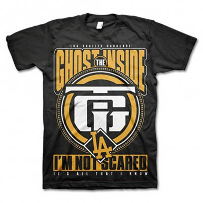 The Ghost Inside - I'm Not Scared Tee (Black)