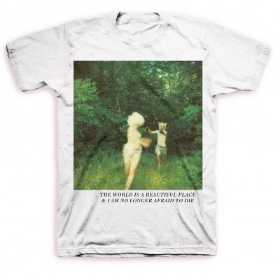 The World Is A Beautiful Place & I Am No Longer Afraid To Die - Harmlessness Cover T-Shirt (White)
