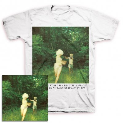 The World Is A Beautiful Place & I Am No Longer Afraid To Die - Harmlessness CD + Cover Tee Bundle