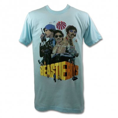 beastie-boys - BB Criterion Collection T-Shirt (Light Blue)
