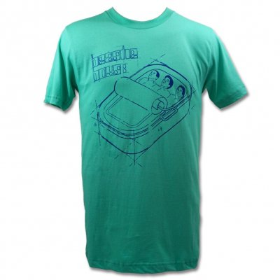 beastie-boys - Sardine Blueprint T-Shirt (Mint)