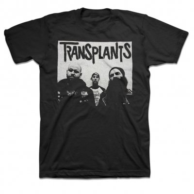 the-transplants - Band Photo T-Shirt (Black)