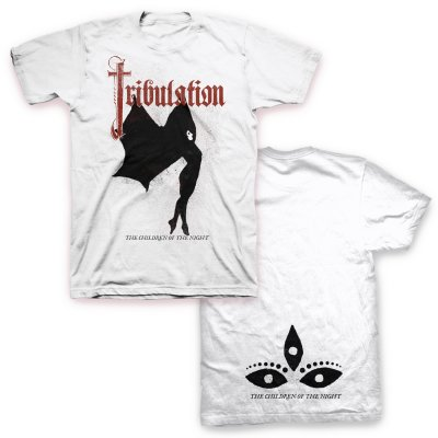tribulation - The Children Of The Night T-Shirt (White)