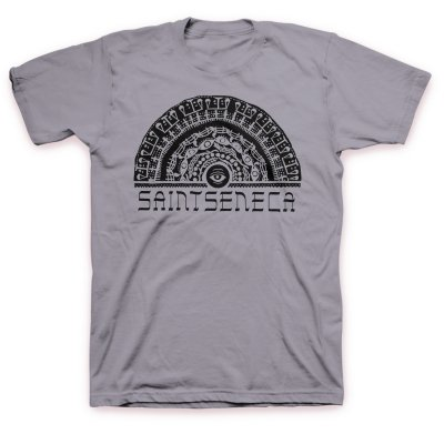 saintseneca - Eye T-Shirt (Light Charcoal)