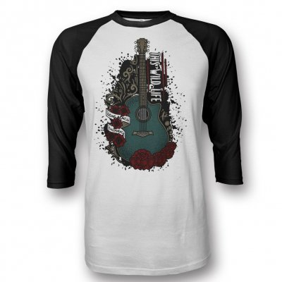 this-wild-life - TWL Acoustic Tattoo Baseball T-Shirt