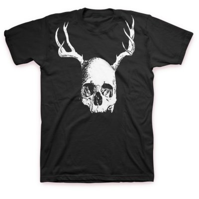 three-one-g - Deerskull T-Shirt (Black)