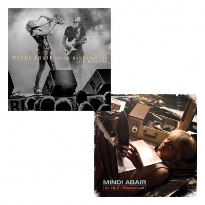 mindi-abair - Live in Seattle Signed CD + In Hi-Fi Stereo CD Bundle