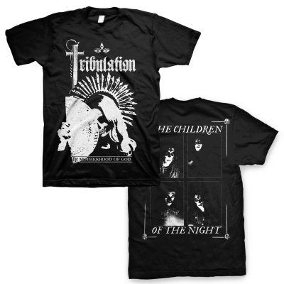 tribulation - The Motherhood Of God T-Shirt (Black)
