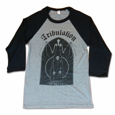 tribulation - Bat Raglan (Black/Grey)