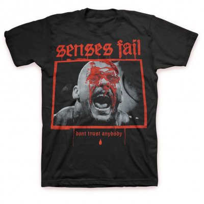 Senses Fail - Don't Trust Anybody T-Shirt (Black)