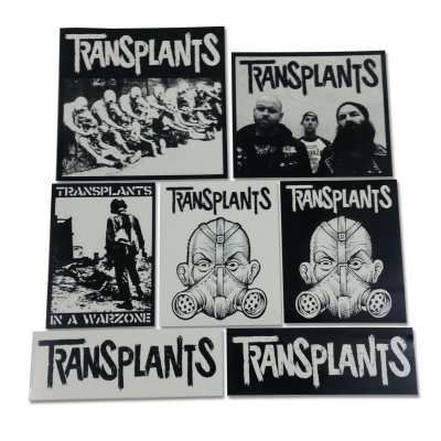 Transplants - Sticker Pack