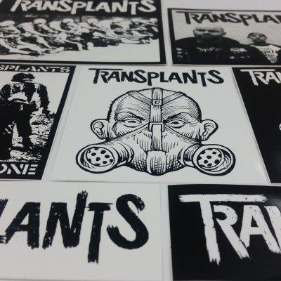 The Transplants - Sticker Pack