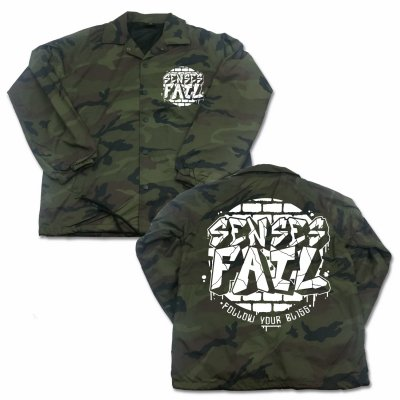 senses-fail - Bricked Logo Windbreaker (Camo)