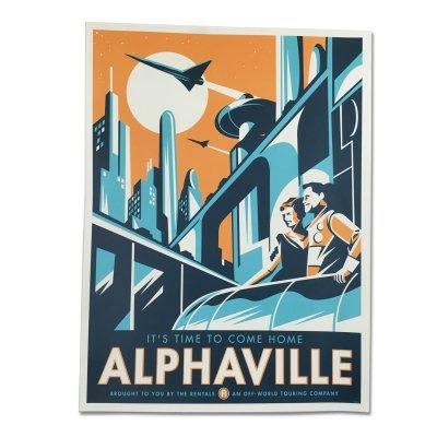 the-rentals - Alphaville Art Print