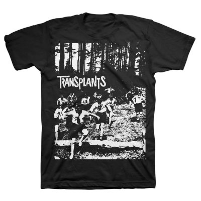 Transplants - Running Kids T-Shirt (Black)