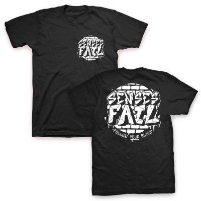 senses-fail - Bricked Logo T-Shirt (Black)