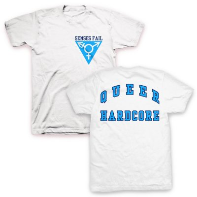 senses-fail - Queer Hardcore T-Shirt (White)