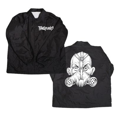 Gas Mask Windbreaker (Black)
