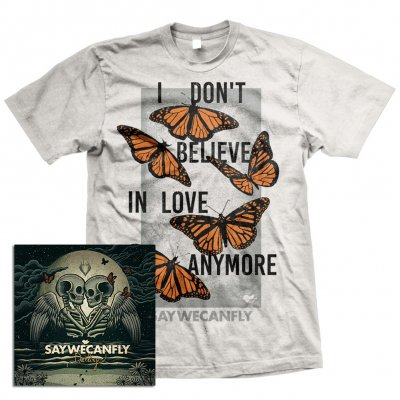 SayWeCanFly - Darling EP CD + Butterflies T-Shirt Bundle