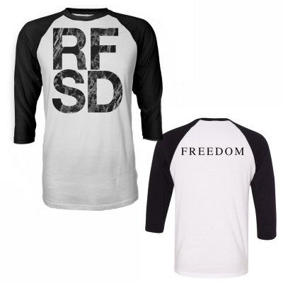 epitaph-records - RFSD Raglan (White/Black)