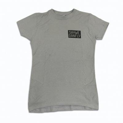Box Logo Women's T-Shirt (Silver)