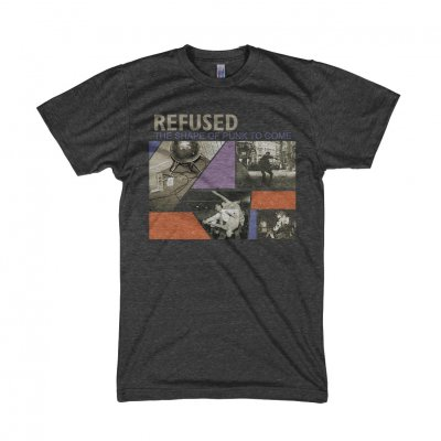 Refused - Shape Of Punk To Come T-Shirt (Heather Black)