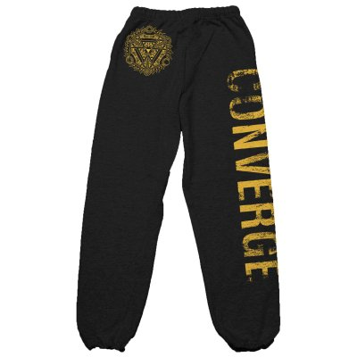 Converge - TOMBU Sweat Pants (Black)