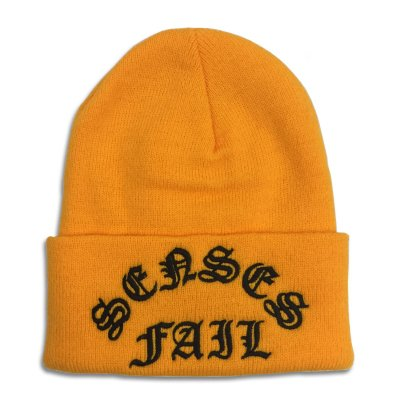 senses-fail - Gothic Logo Beanie (Golden Brown)