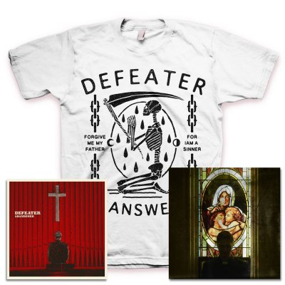 defeater - Abandoned CD & Unanswered Skeleton T-Shirt