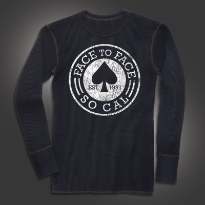 face-to-face - Spade Longsleeve Thermal
