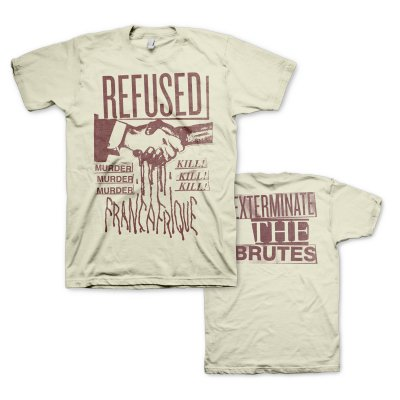 Refused - Francafrique T-Shirt (Natural)